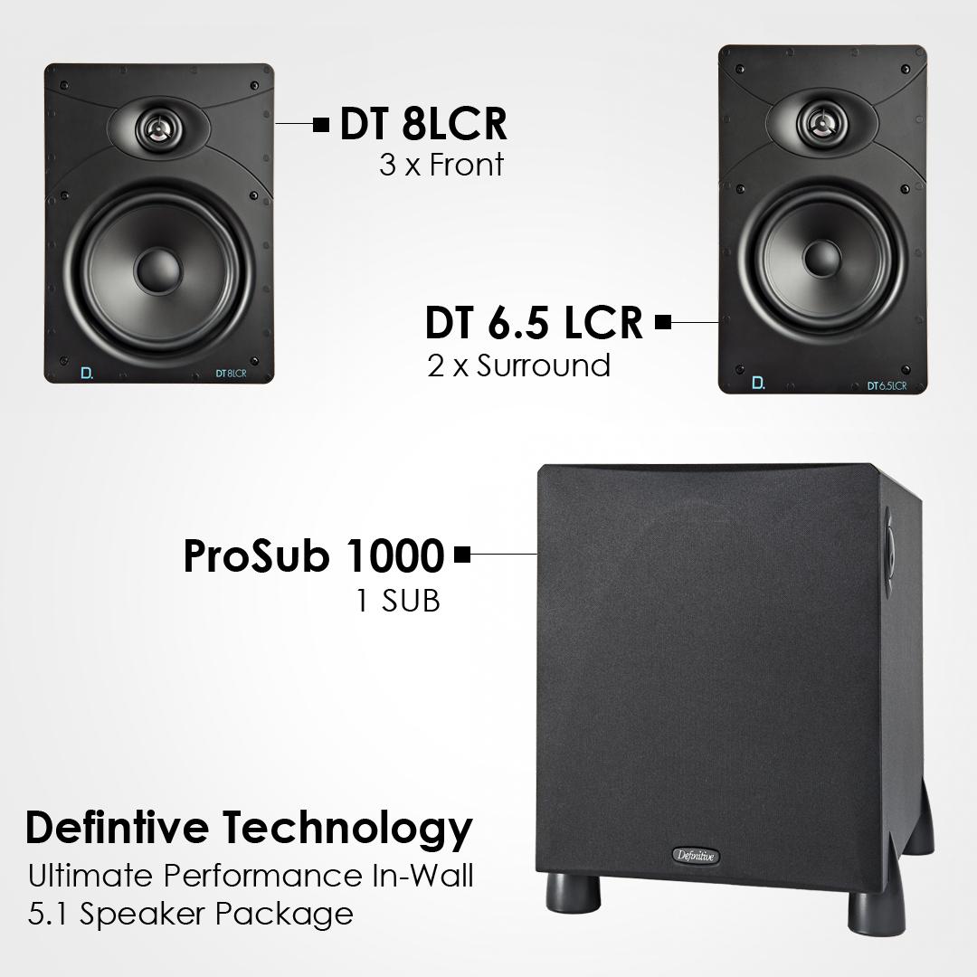 Definitive Technology DT8 / 6.5 LCR